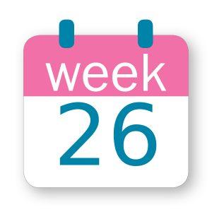 Εβδομάδα κύησης 26η