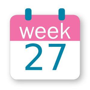 Εβδομάδα κύησης 27η